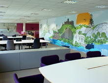 OFFICE INTERIOR DESIGN | COUNTY HALL THE EXCHANGE