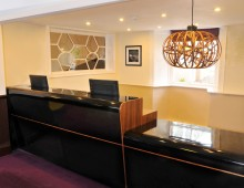 HOTEL INTERIOR DESIGN | GREEN BANK HOTEL RECEPTION
