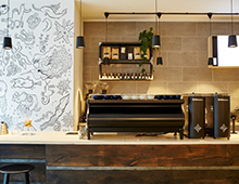 CAFE INTERIOR DESIGN| ORIGIN COFFEE LONDON