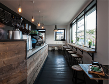 CAFE INTERIOR DESIGN | ORIGIN COFFEE BREW HOUSE